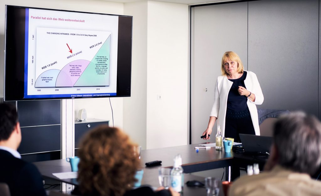 Ilona Orthwein im Seminar