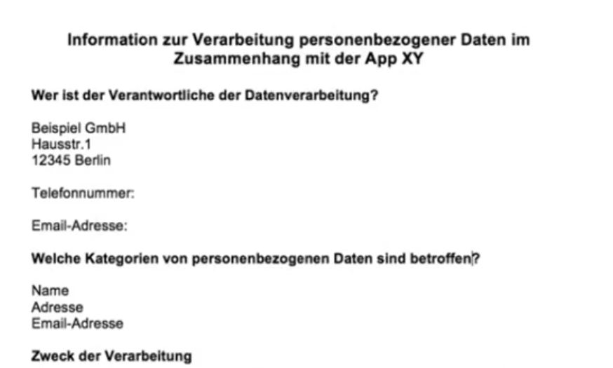 Quelle: RA'in Christina Bauer : Webinar zur Datenschutzgrundverordnung